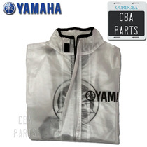 Campera Pilotin De Lluvia Transparente Yamaha Cbaparts