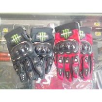 Guantes Monster Energy Protectores