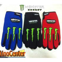 Guantes Motocross Enduro Mbike Monster Energy Unocenter