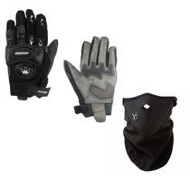 Guantes Oracing C/protecciones Termicos C/neoprene + Mascara