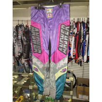 Pantalon Motocross Enduro Bmx Usado Original Answer Usa T.32