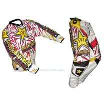 Conjunto Pantalon Y Buzo Motocross Rockstar Nacional