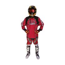 Conjunto Pantalon Y Buzo Motocross Fox Gama
