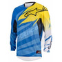 Equipo Competicion Motocross Alpinestar Techstar Cyan