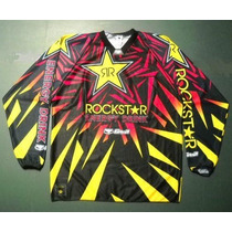 Conjunto Pantalon Y Buzo Motocross Rockstar Xxl Nacional
