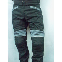 Pantalón De Cordura Y Neoprene Para Motociclista.