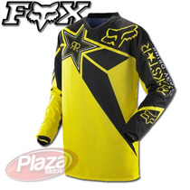 Remera Fox Hc Rockstar Jersey Motocross Plazamotos