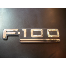 Insignia Lateral Ford F100 Modelo 2001 En Adelante