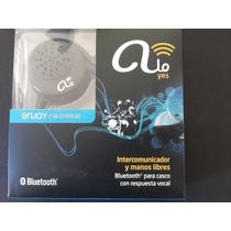 Intercomunicador Alo Yes Bluetooth P/ Casco