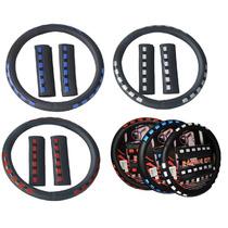 Kit Cubre Volante + Cubre Cinturon De Seguridad Deportivo