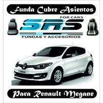 Funda Cubre Asientos De Cuero Ecológico P/renault Megane