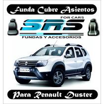 Funda Cubre Asientos De Cuero Ecológico P/renault Duster