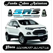 Funda Cubre Asientos De Cuero Eco P/ Ecosport Kinetic