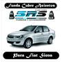 Funda Cubre Asientos De Cuero Eco P/ Fiat Siena