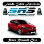 Funda Cubre Asientos De Cuero Ecolog P/renault Clio