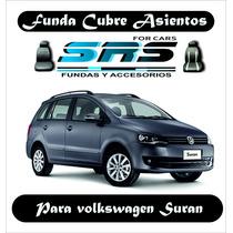 Funda Cubre Asientos D Cuero Ecológ P/volkswagen Suran