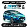Funda Cubre Asientos De Cuero Eco P/ Fiesta Kinetic