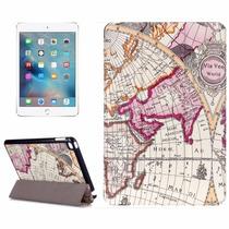 Funda Flip Ipad Mini 1 2 3 4 Estampadas Mapas Antiguos