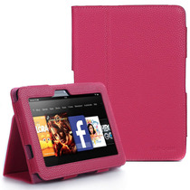Funda Amazon Kindle Fire Hd 8.9 Ecocuero + Lapiz De Regalo!!