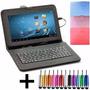 Funda Tablet 7 Teclado Usb Universal Nuevo Modelo + Regalos!