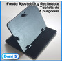 Funda Ajustable P/tablets De 8 Pulgadas,reclinable,elegante