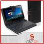 Estuche Con Teclado Funda Tablet Pc 10 Ipad Ebook Apad Usb