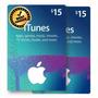 Itunes Gift Card Usa 2x15 Total 30 P/ Iphone Ipad Appletv