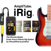 Irig Amplitube Ik Multimedia Para Ipad - Iphone Y Ipod Ofert