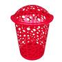 Canasto Plástico Para Ropa Basquet 45l Gardenlife (rojo)