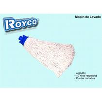 Mopin De Algodon Para Lavado 10 Hilos Retorcidos Royco 200