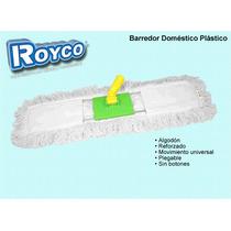 Barredor Plástico Doméstico Algodón Lampazo Royco 60x12 Cm