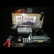 Malacate 9500 Lbs / 4300 Kg Off- Road 4 X 4 Oferta!!!