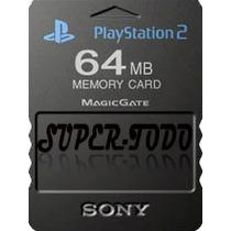 Memory Card 64 Mb Playstation 2 Sony Ps2 Gtía Xescrito Envío