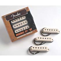 Set De Micrófonos Fender Original 57/62 099-2117-000 Nueva