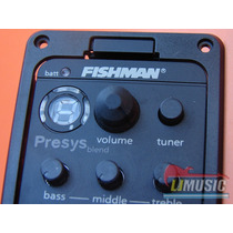 Fishman Pream Presys Blend Guitarra Doble Microfono Afinador