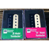 Set Seymour Duncan Jb Tb4 Trembucker + 59 Sh1 Zebra Nuevo!