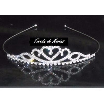 Tiara Corona Disfraz Princesa Novia 15 Años Cortejo Boda