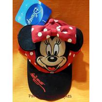 Gorras Infantiles Con Visera Y Orejas De Mickey O Minnie!!!!
