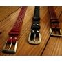 Cinturones De Cuero Troquelados A Mano