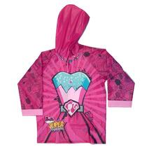 Piloto De Lluvia Infantil Barbie Princess Power Original