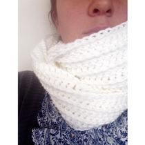 Bufanda Tejida Al Crochet Infinit Adorei