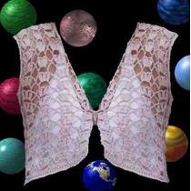 Chaleco Crochet Tejido Primavera Verano Otoño Invierno