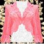 Bolero / Cmperita Crochet Para Todo El Año