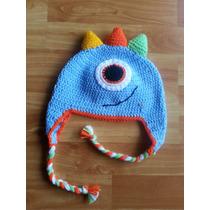 Gorros Tejidos A Crochet Niños Mickey Minions Chiquis Bebes