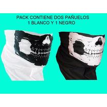 Pañuelo Calavera Skull Bandana $55c/u Motoquero Paintball