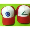 Pokemon Ash Ketchup Set De 2 Gorras, Llevas 2 Al Precio De 1