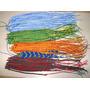 30 Pulseras Macrame 4 Hilos Bijou Mayor Colores Moda Pack