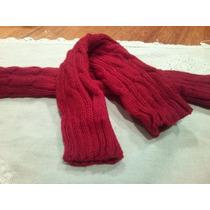 Mitones De Abrigo Color Rojo Sangre