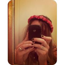 Vincha Tiara Flores Hippie Jenny Forrest Gump Alambre Rigida