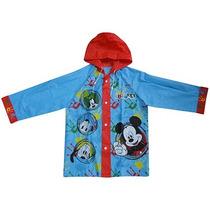 Piloto De Lluvia Infantil Mickey Mouse Licencia Original